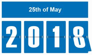 el nuevo RGPD entra en vigor el 25 mayo de 2018